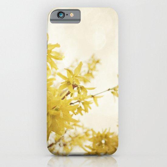 Dreamy Forsythia  iPhone & iPod Case