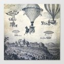Carrilloons over the City Canvas Print