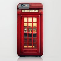 iPhone Cases featuring Magical Telephone Booth by Emiliano Morciano (Ateyo)