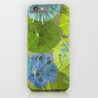 Parasols Blueberry Lime iPhone 6 Slim Case