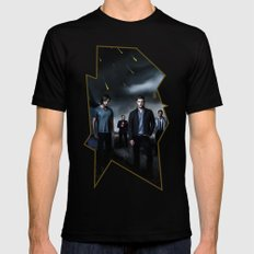 Supernatural Mens Fitted Tee Black SMALL