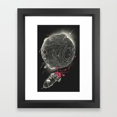 Galactic Mission Framed Art Print