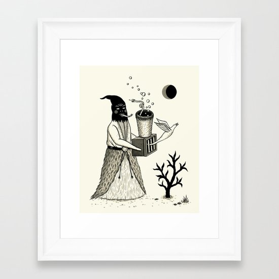 Harbinger of Anxiety Framed Art Print