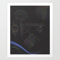 Dream Diagram Art Print