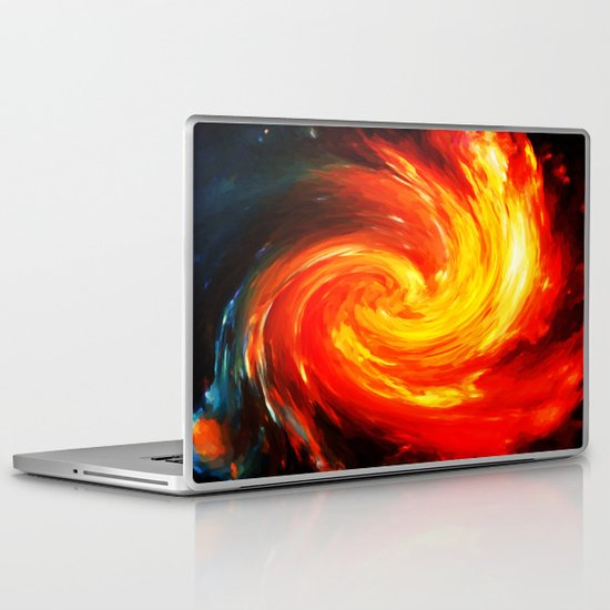 Storm In The Galaxy - Painting Style Laptop & iPad Skin