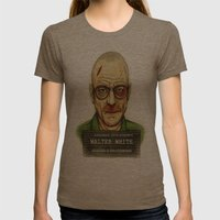 Breaking Bad. Womens Fitted Tee Tri-Coffee SMALL