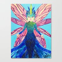 The modern tooth fairy Canvas Print