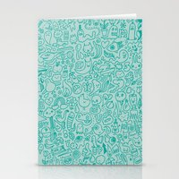Chalk Doodle Stationery Cards