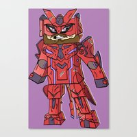 Phantasy Block - Minecra… Canvas Print