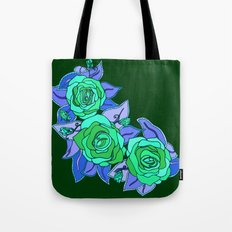 With The Roses Tote Bag