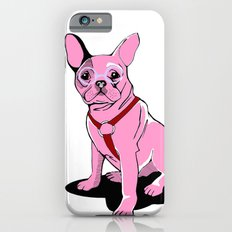 Frenchie_Pink Slim Case iPhone 6s