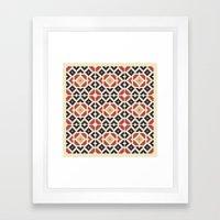 Midcentury Pattern 10 Framed Art Print