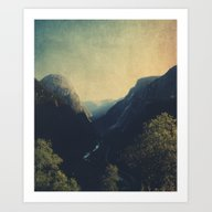 Art Print featuring The Valley by Ingrid Beddoes