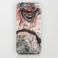 iPhone & iPod Case featuring The bad by Crooked Octopus