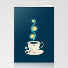 Starry Starry Coffee Stationery Cards