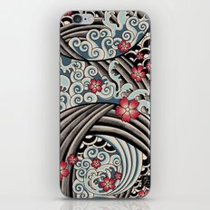 Waves of tradition iPhone & iPod Skin