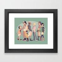 TWEWY Framed Art Print
