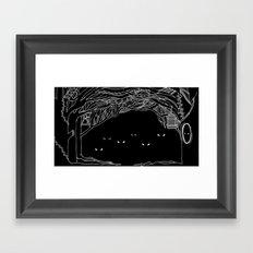Face Your Fears. Framed Art Print