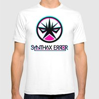 Synthax Error Mens Fitted Tee White SMALL