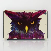 The Disapproving Owl... iPad Case