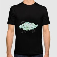It doesn't matter what others are doing Mens Fitted Tee Black SMALL
