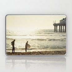 Sunset in Manhattan Beach, Los Angeles, California Laptop & iPad Skin