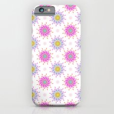 FLOWER PATTERN Slim Case iPhone 6s