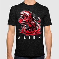 ALIEN: KANE'S SON Mens Fitted Tee Tri-Black SMALL