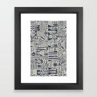 Coevolution Framed Art Print