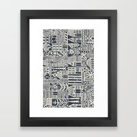 Coevolution Framed Art Print
