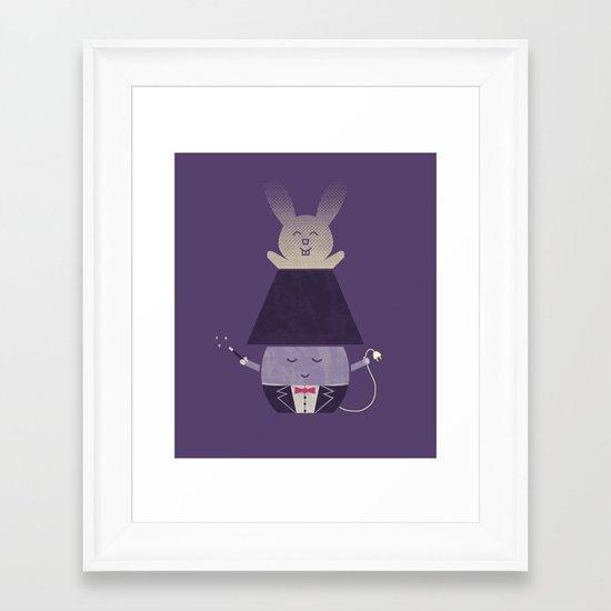 Magic Lamp Framed Art Print
