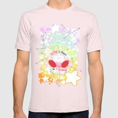 Kirby is shaped like a friend (shirt) Mens Fitted Tee Light Pink SMALL