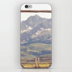 Western Mountain Ranch iPhone & iPod Skin