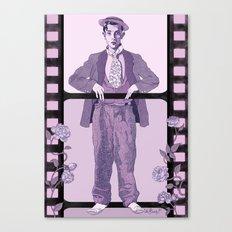 Buster Movie Hero Canvas Print