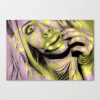+ All The Shine + Canvas Print