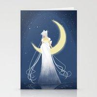Moon Princess Stationery Cards