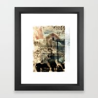 early settlers Framed Art Print