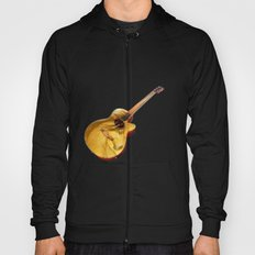The guitar is a lady Hoody