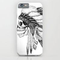 native american iPhone & iPod Cases featuring Native American by Motohiro NEZU