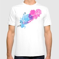 Nerd /// Fight Mens Fitted Tee White SMALL