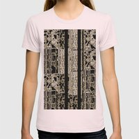 DATA Womens Fitted Tee Light Pink SMALL