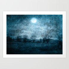 Rain Of Stars Art Print