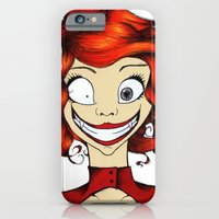 iPhone & iPod Case featuring Little Mad Alice by One Curious Chip