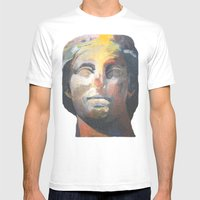 Athena Mens Fitted Tee White SMALL