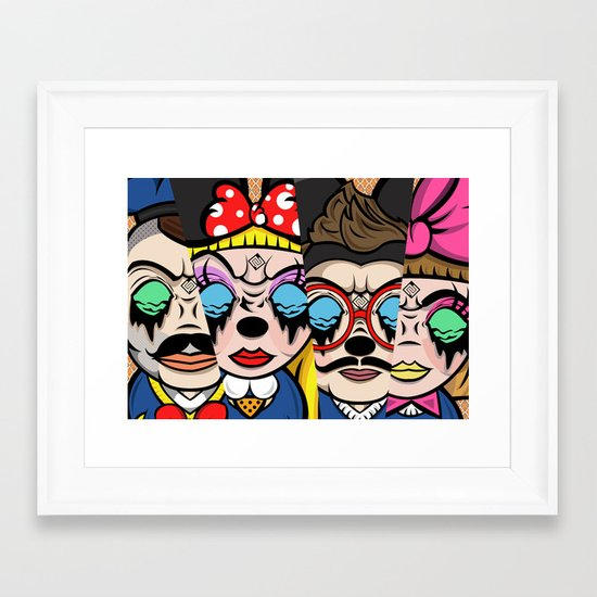 The Mickey Mouse Club Framed Art Print
