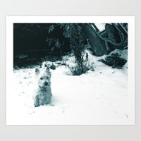 This Is Snow Fun... Art Print