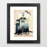 A Q U A R I U S colour edition Framed Art Print
