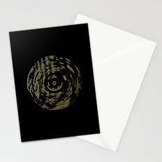 Gold Disc Stationery Cards