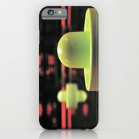 iPhone & iPod Case featuring Arcade bokeh by Vorona Photography