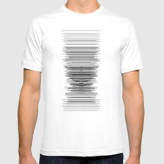 reception Mens Fitted Tee White SMALL